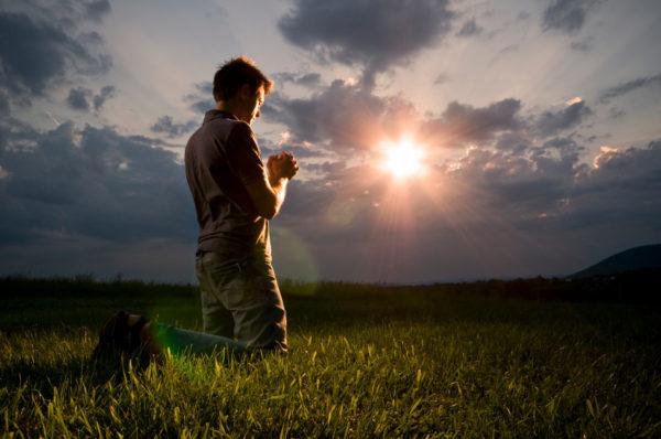 Pregare semplicemente ma con forza