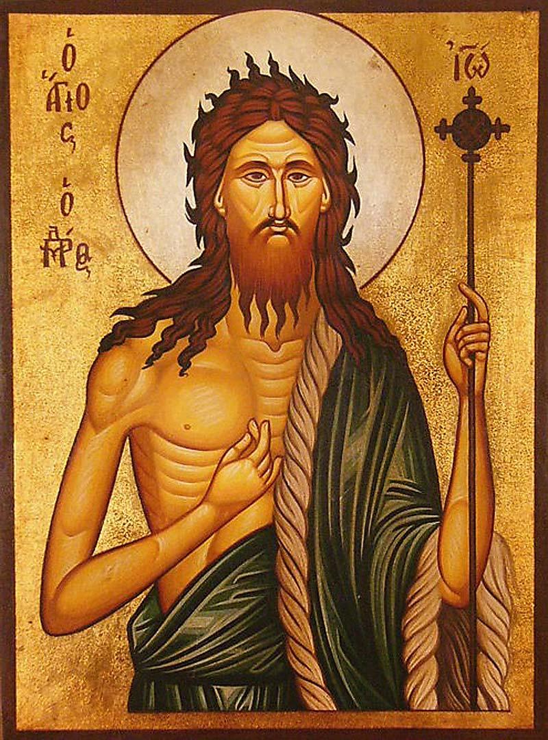 Il messaggio di Giovanni il Battista