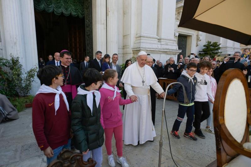 Papa Francesco a Loreto