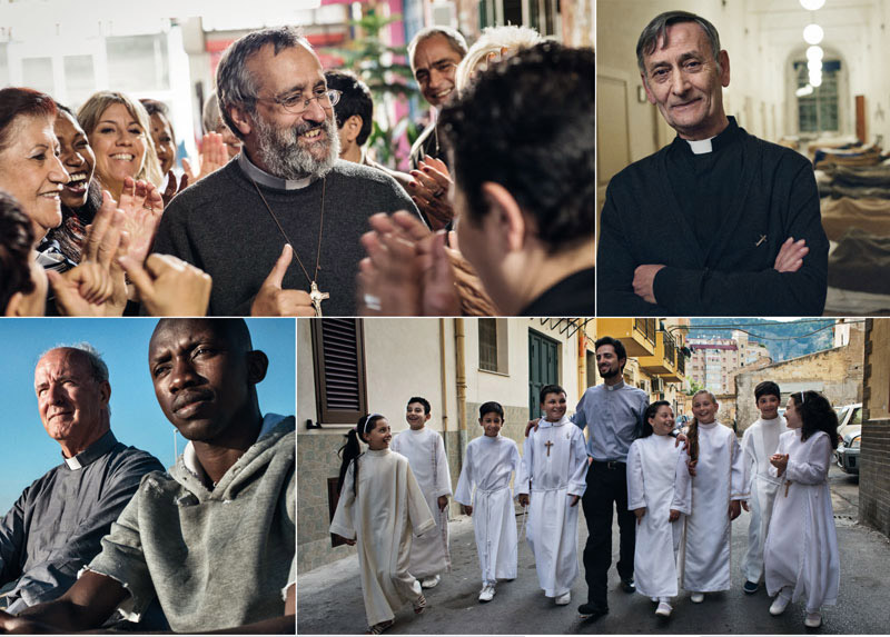 Il calo numerico dei preti